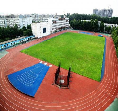 学校操场跑道