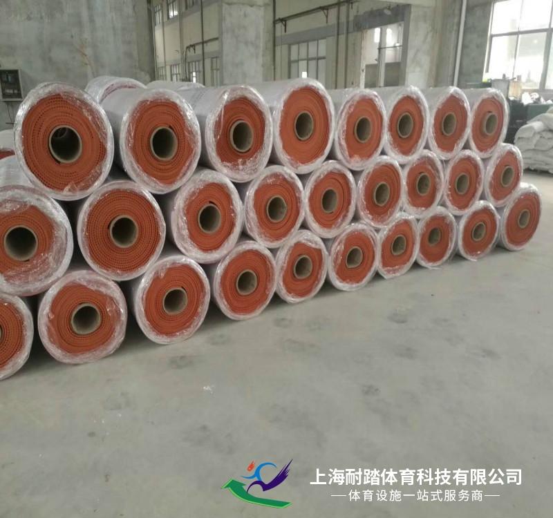 预制型橡胶卷材跑道材料