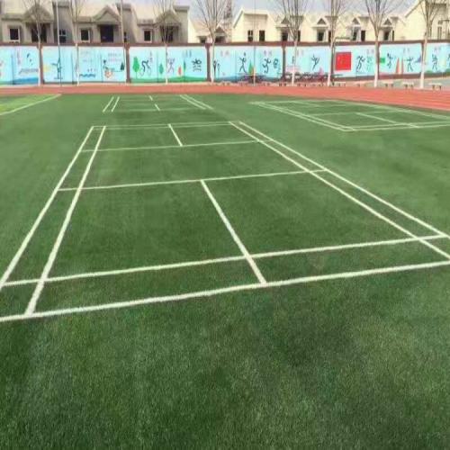 人造草坪羽毛球场