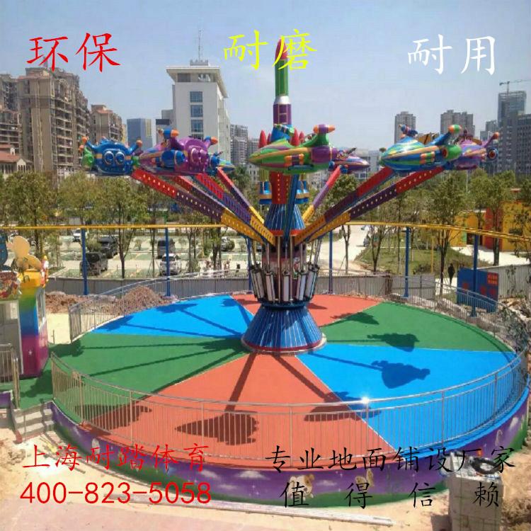 幼儿园塑胶跑道施工